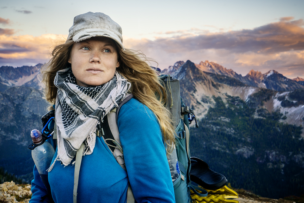 "Linda Åkerberg ""420 mil vandring"" | Fotografi Falkenberg"